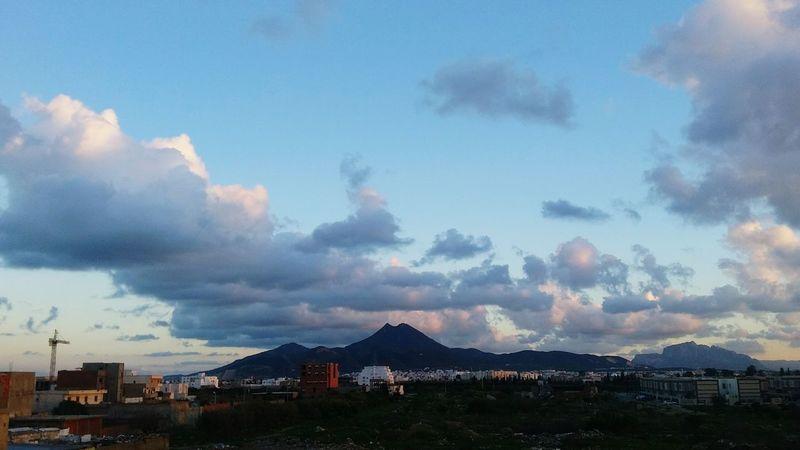جبل بوقرنين ❤ Smartphone Photography Mountain Clouds And Sky Clouds Sky ...