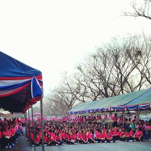 มาเดินวิ่งเพื่อสุขภาพ งานครบรอบโรงเรียนสตรีอัปสรสวรรค์ครบรอบ 72ปี @octoiijane @ipurepure @mungkudtumu ครั้งแรกในชีวิตที่มีสาวๆวิ่งด้วยเยอะขนาดนี้ สมชื่อโรงเรียนนางฟ้า เห็นเงียบๆ แต่โรงเรียนนี้นางฟ้าเพียบนะครับผม @niiize @mai1908