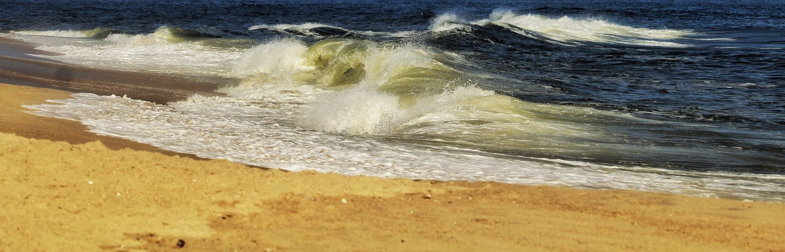 Beauty In Nature Surf Wave Sea Motion No People Sand Beach Power In Nature Force