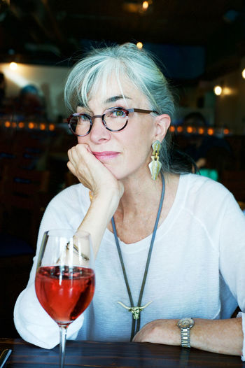 Beautiful Senior Woman Beautiful Woman Casual Clothing Comfortable Focus On Foreground Gray Hair Leisure Activity Lifestyles Portrait Relaxing Senior Woman Wine The Portraitist - 2016 EyeEm Awards
