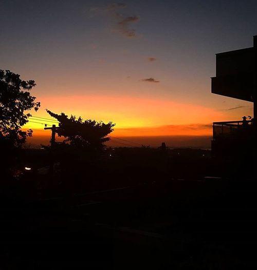 A arte do final de tarde. Vemcomigo Ilhadogov Smartphonephotography Photolovers Photography Landscape Paisagem Silhouetart Pordosol Sunset Sunsetlovers Fimdetarde Artedofinaldetarde Afilial Represents Velharianãopara Velhariaskateboard
