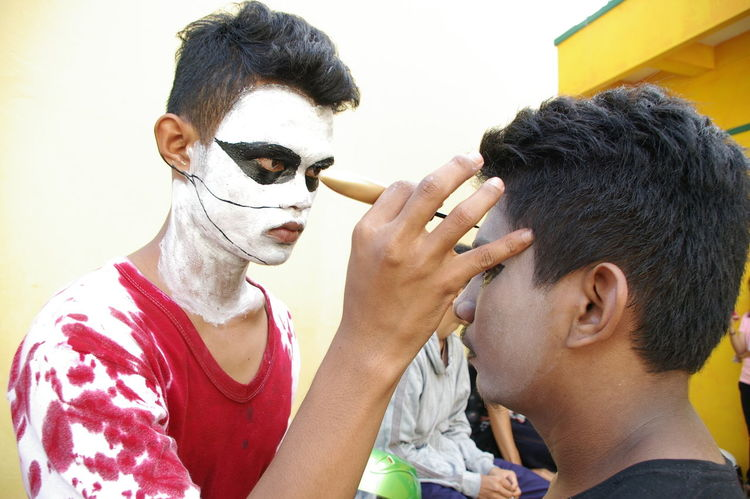 Kepri Festival Before Performing  Black Metal Ghotic - Metal Style.... \../ Lifestyle Make Over Makeup Style And Fashion Stylelife