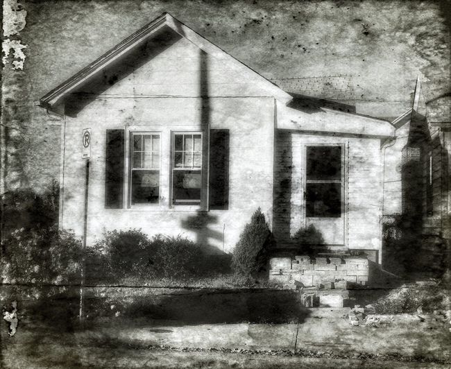 I Dream in Black and White ~ Wandering for Eternity down the Narrow Alleys and Streets of Cities Long Forgotten, looking for my soul. ~ Architecture Built Structure Building Exterior House Window No People Abandoned Plant Outdoors Day Tree William Christenberry Relic From The Past Kcac Artist Ghosts Missouriphotography Memories Walker Evans Relicsofthepast Patina_perfection Urban Exploration Spirituality