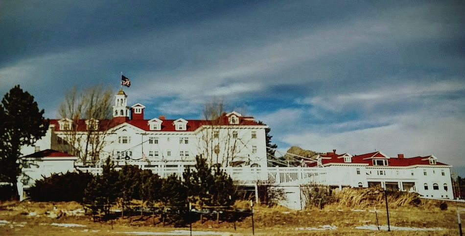 Stanley Hotel Wintertime sunny day Enjoying Life Road Trip Outdoor Photography Small Town Life Walking Around Colorado Times Historical Building movie location American Life Famous Place Tourism