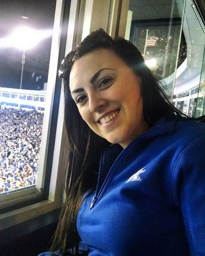 My beautiful wife @thebrookebingham tonight at the Kentucky  Game Ukvsauburn Weruk Stoopstroops Wildcats Sec Football