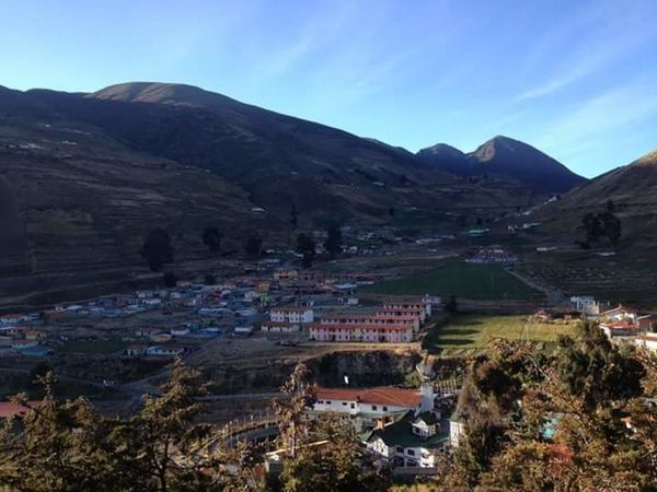 Mérida. Venezuela Mountain Landscape Outdoors Scenics Agriculture Social Issues Mountain Range Nature No People Sky Rural Scene City Day Beauty In Nature Point Of View Low Angle View Beauty In Nature Nature Clear Sky People This Is Latin America