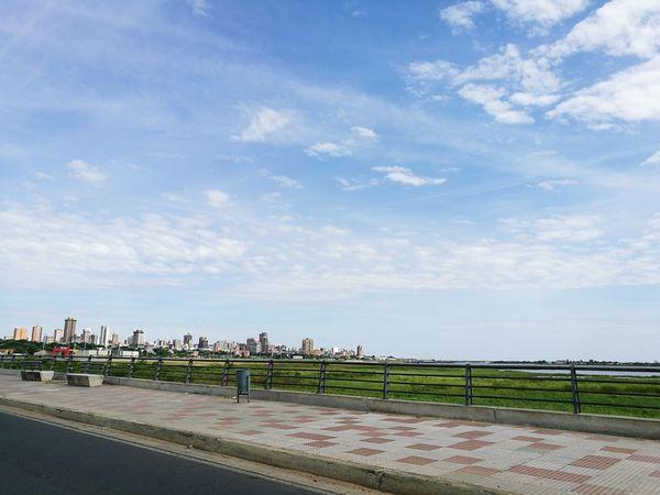 Asunción Paraguay Asunción Costanera De Asunción Beauty In Nature Day Cloud - Sky Río Paraguay