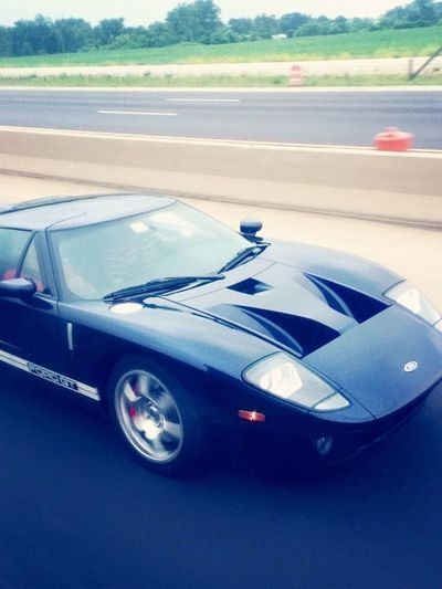 Look what I just saw! On The Road Cars Ford GT Awesome
