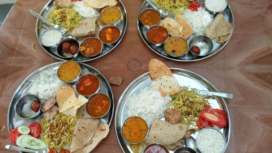 Bowl Cultures Day Directly Above Drinking Glass Food Food And Drink Freshness Healthy Eating Indian Food No People Outdoors Ready-to-eat Variation
