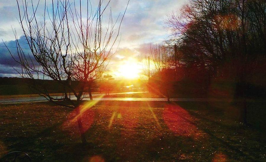 Sonnenuntergang Sundown Landscape Landschaft
