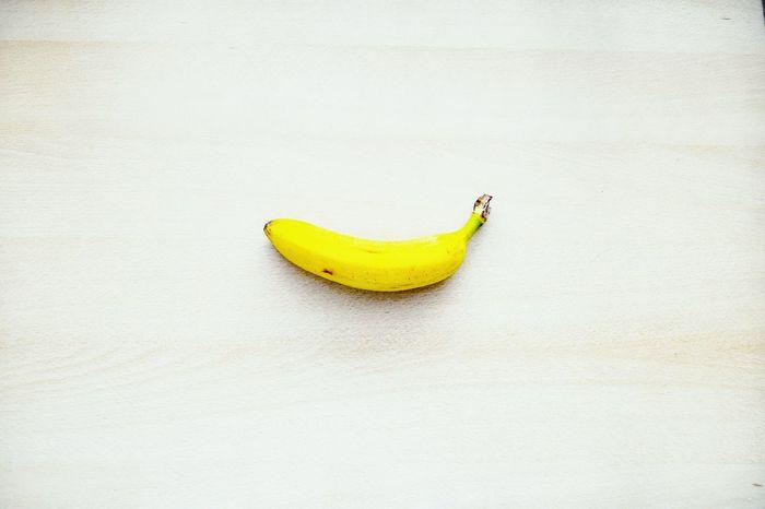 Banana Yellow Banana Single Object Fruit Fruit Photography Food Freshness Healthy Eating Studio Shot Close-up Still Life White Background Ready-to-eat Healthy Lifestyle Simplicity Minimal Minimalove Minimalobsession Minimalism Minimalist Photography  Minimalist Paint The Town Yellow