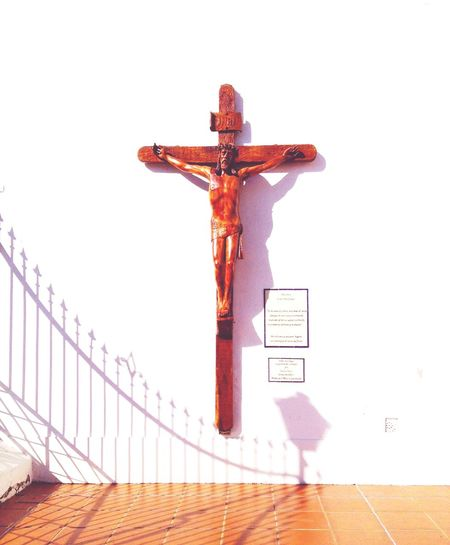 Crucifix outside a church in Buenos Aires. Desth On A Cross Symbol Of Christ The Crucified Christ Christ Representation Christ Crucified Crucified Christ EyeEm Selects No People Belief Religion Cross Spirituality Representation Human Representation