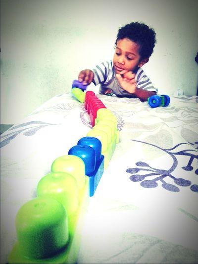 Meufilholindo MarcusAntoniu o Tonny Brincando ♥ Mybeautifulson Playing