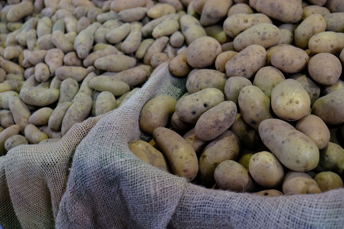 Agriculture Food And Drink Potato Vegetable Market Food Food And Drink Food Industry Food Photography Freshness Healthy Eating Healthy Food Large Group Of Objects Market Potatoes Vegetable Vegetables