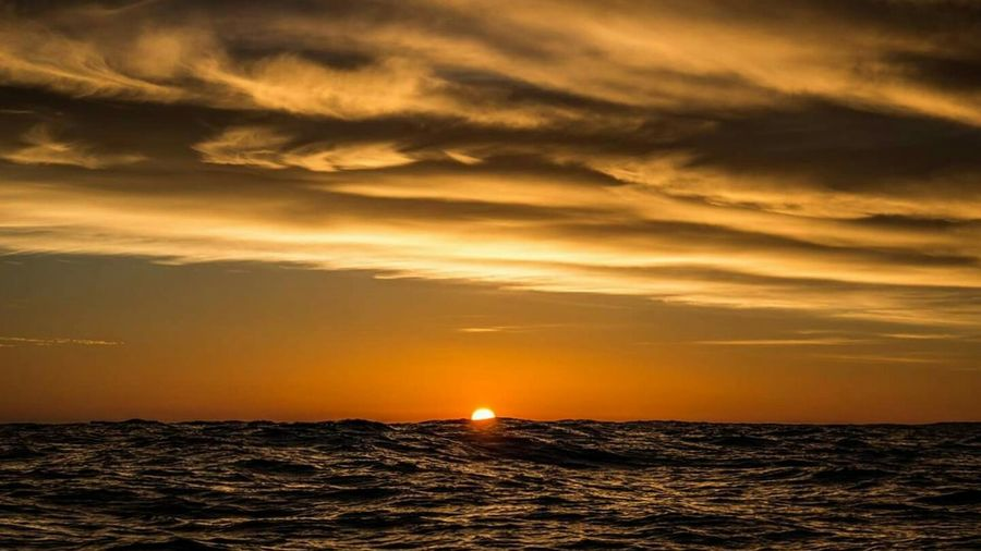 Sunset Sea Tranquility Scenics No People Beauty In Nature Outdoors Nature Ocean First Eyeem Photo