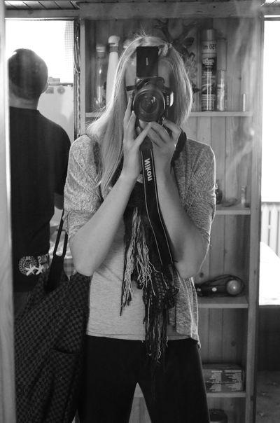 Black And White Nikon Lustro Happy :) ;*