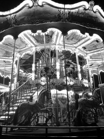 Somewhere Leicacamera HuaweiP9 Huaweiphotography Low Angle View Illuminated Night Merry-go-round