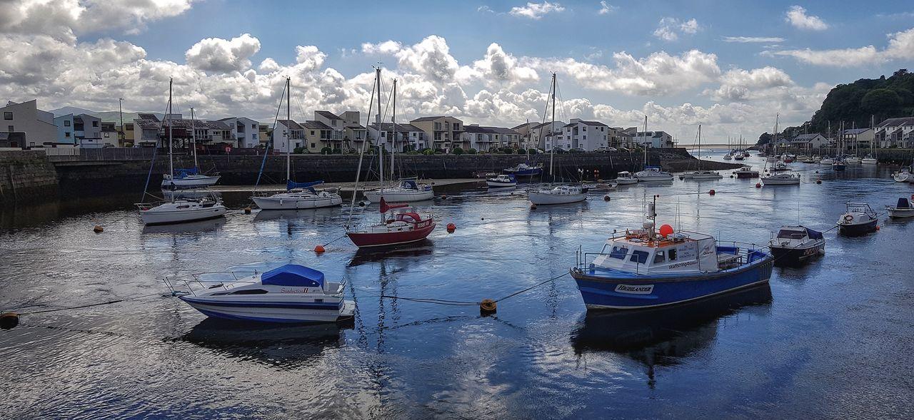 Porthmadog harbour Nautical Vessel Mode Of Transport Transportation Cloud - Sky Sea Harbour North Wales Porthmadog