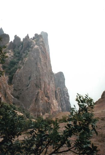 35mm Cliff Crimea Film Geology Landscape Mju Mjuii Mountain Nature Olympus Outdoors Plant Rock Rock Formation Rocky Mountains Tourism Travel Traveling Tree