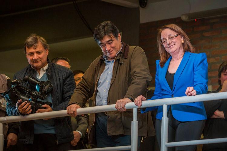 Alicia Kirchner, sister of the ex-president Nestor Carlos Kirchner with Carlos Zannini Kirchner Politics UTN Argentina Journalism