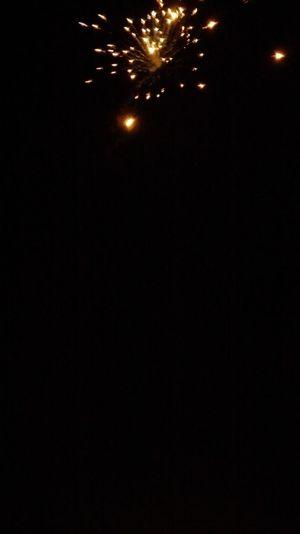 Feux D'artifice Magie Nuit Lumière