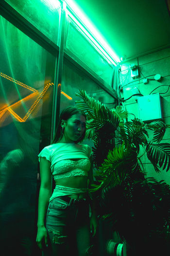 Neon Lights Lovely Couple Couple Green Love Pink Red Relationship Couple - Relationship Couples Indoors  Leisure Activity Lifestyles Lovely Neon Neon Color neon life Neon Lights Passion Real People Selfie Young Adult EyeEmNewHere