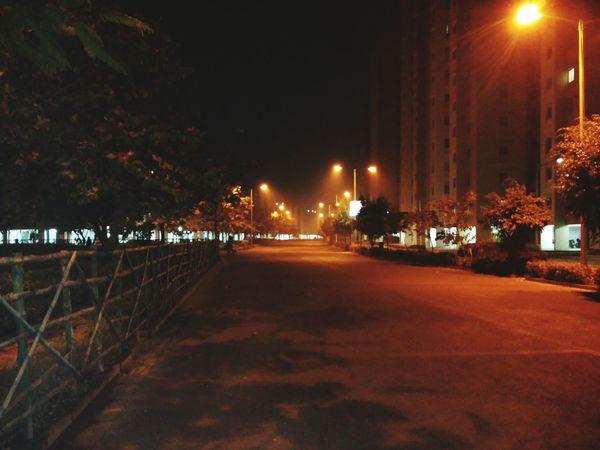 Streetphotography Kolkata Evening Lights Fog