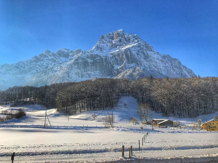 Snow Cold Temperature Winter Mountain Tranquility Weather Scenics Mountain Range Tranquil Scene Nature Beauty In Nature Day No People Outdoors Sky Landscape Tree