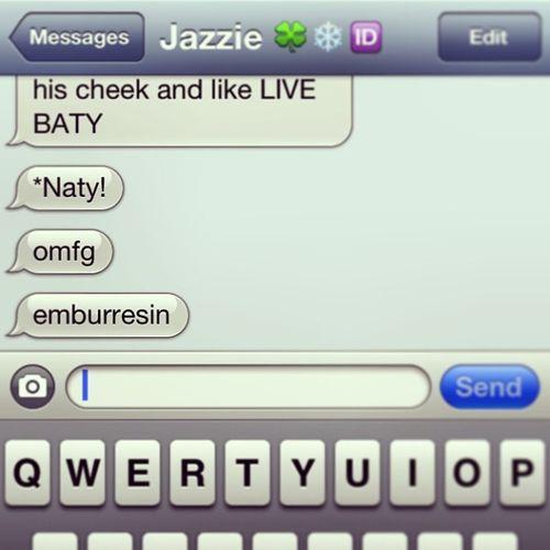 Hi, my name is Baty. Jazzie Loveher Lass Wecool