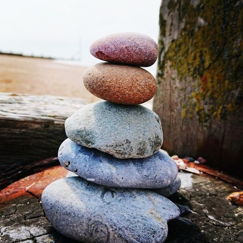 Beach Art Hayling Island  Sunny Day EyeEm Selects Water Stack Balance Pebble Close-up Shore Stack Rock Stone - Object Groyne Beach