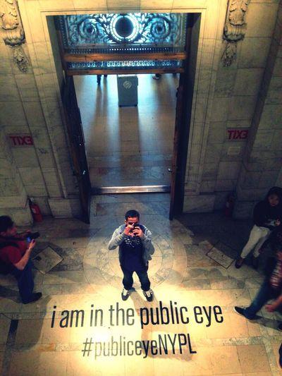 PubliceyeNYPL New York Library People Selfie ✌