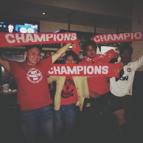 MV Swansea 1 v 4 Manchester United. Mufc Champions