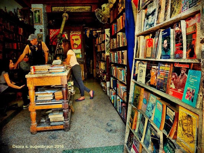 Cuban Bookstore DistressedFX Havana Cuba Cuban Life Cuba Collection Cuba 2016 Cuban Style Cuban People Street Art Streetphotography Books Bookstore Bookshelf Book Olympus OM-D EM-1 Olympus