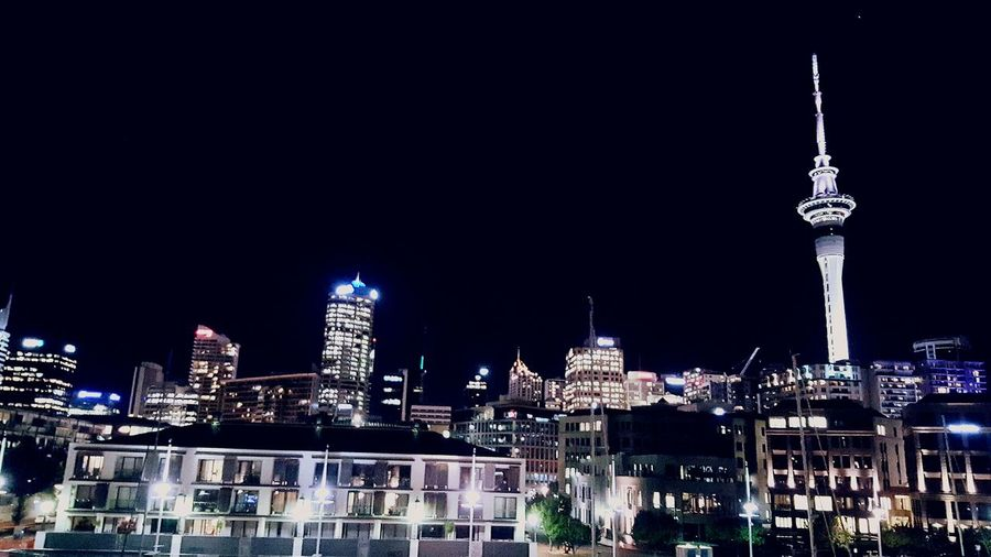 City views Auckland City Skycity Tower Nightphotography City Lights City Life Enjoying Life Relaxing Check This Out