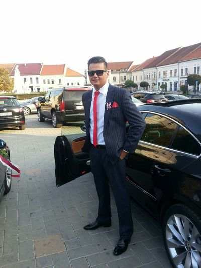 The suit is style. Man Suit And Tie Suit Fashion Fashion Hair Style Slovakia