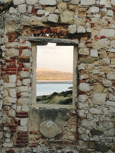 Sea Window Summer Water No People Beach Day Nature Outdoors Beauty In Nature