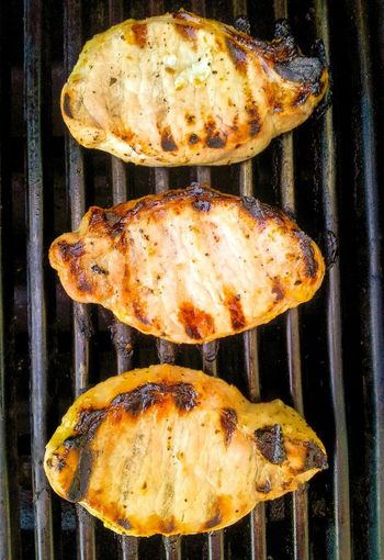 Grilled pork chops Grilled Grilled Meat Pork Chops Food Grilled Pork Grilledpork Food Photography BBQ Cooking Dinner Barbeque Summer Close-up Three From Above  Grill Barbecue Cooking At Home Meat! Meat! Meat! BBQ Time Lines Dinner Time Foodphotography Yum Grilling