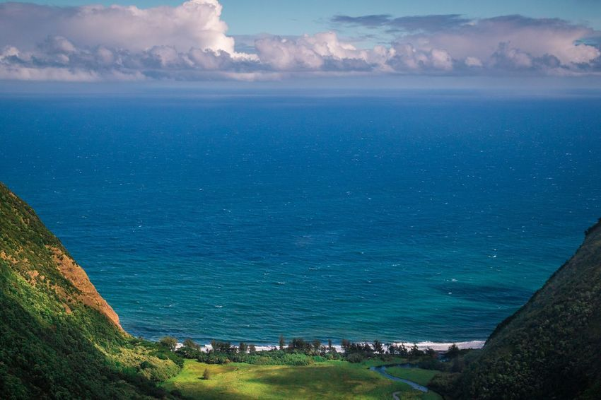 Valley View 🌊 Helicopter View  Helicopter Hawaii Life Hawaii Waipio Valley  Waipio Valley Water Sea Scenics - Nature Beauty In Nature Blue Nature Land Tranquility Tranquil Scene Beach High Angle View Day No People Sky Cloud - Sky Outdoors Landscape Idyllic Environment