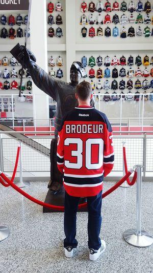 Rockin the new Marty jersey... NJ Devils Marty Marty30 Nhl Legend Hall Of Fame