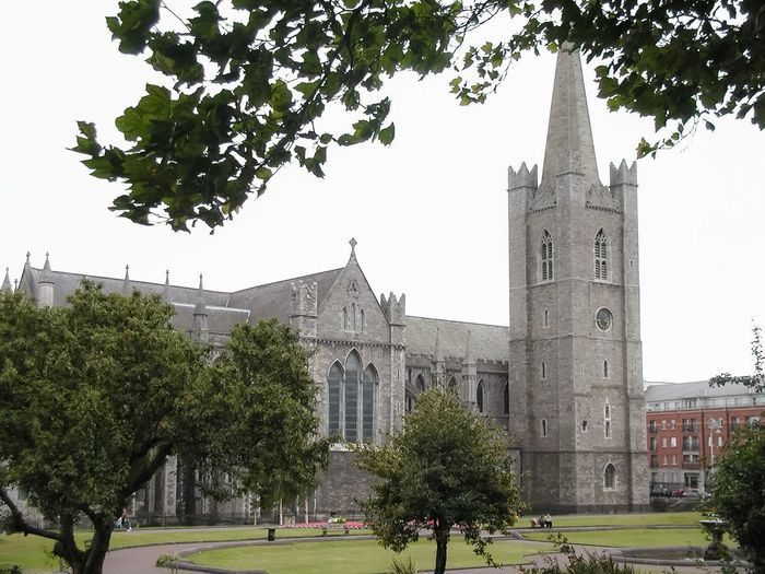 Dublin, Ireland Architecture Cathedral Church Dublin Dublin, Ireland Europe Ireland Irish Liffey Outdoors St Patrick St Patrick's Cathedral Temple Bar