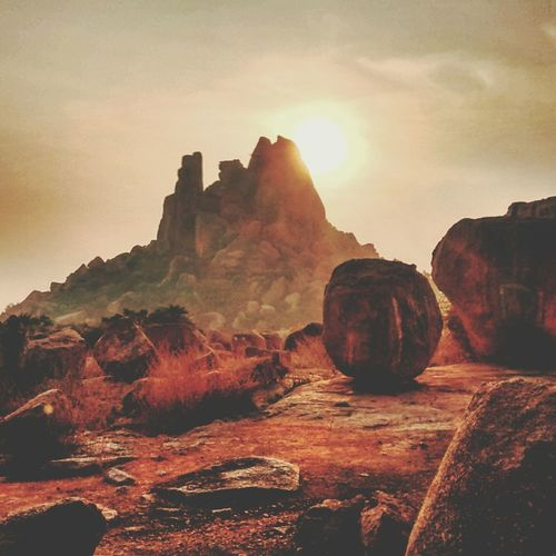 Hampi  Travel Traveldiaries Sunrise Peaceful Consciousness India Divine Eembestshots
