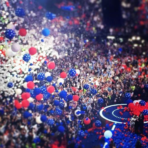 DNC Convention balloonapalooza Philadelphia DNC Dncinphl DNC2016 Convention Balloons Balloonapalooza