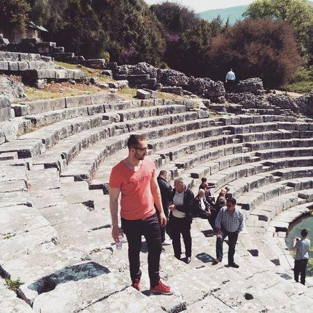Amphitheater National Park Butrint albania