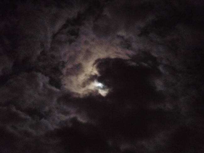Nightphotography Darkness Glowing Stormscape Dramatic Sky Storm Cloud Beauty In Nature Nature Night Scenics Moon Sky Cloud - Sky