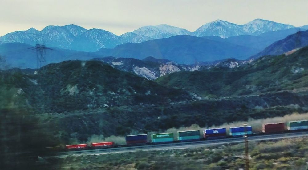 Trainspotting Train Mountains And Sky Mountain_collection This Week On Eye Em EyeEm Gallery Nature_collection Communing With Nature Check This Out LOVE TRAINS