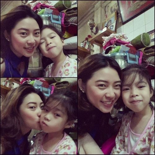 Mondaymorning with my lovely Niece  MissUso Earnny หลานรัก เอิร์นนี่