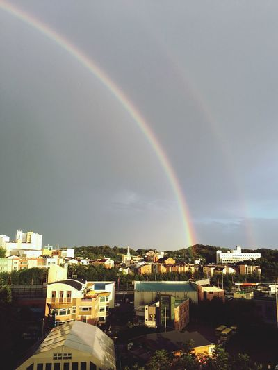 Double Rainbow Pyungtaek Happy :)