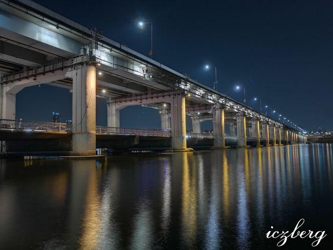 Banpo bridge Banpobridge Banpo Bridge Banpodaegyo Seoul South Korea