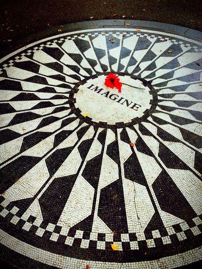 New York Aroundtheworld Travel Photography Magic Moments MyPhotography Central Park Strawberry Fields Imagine John Lennon Legend Hello World Capture The Moment EndlessLove Taking Photos Hello World Travel