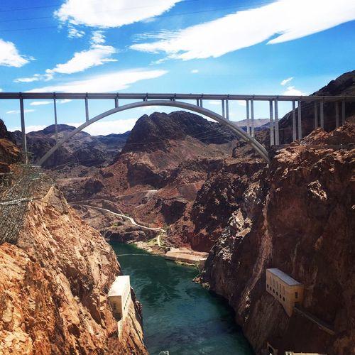 Travel Photography Travel Destinations Traveling Nevada Man Made Object Engineering Dam United States Landmark